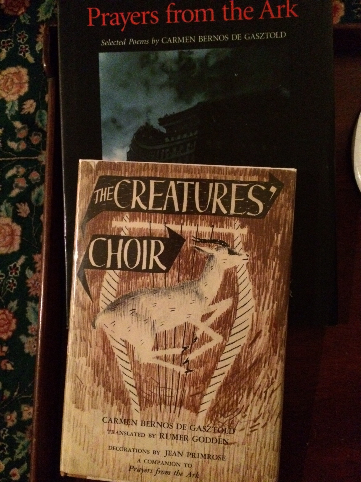 Prayers From the Ark and The Creatures' Choir